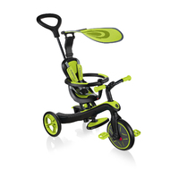 Globber Explorer Trike 4 in 1 - Lime Green